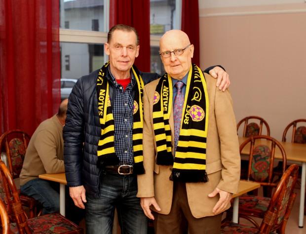 "Wilpas-Legendoja kaksin kappalein Seppo ""ugge"" Heino ja Aulis ""alis"" Laine."